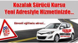 Kozalak Sürücü Kursu Yeni Adresiyle Hizmetinizde