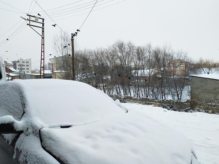 Patnos'ta Kar Manzaraları 13.01.2020