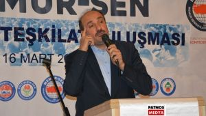 Memur-Sen Genel Başkan yardımcısı Günay Kaya, Patnos'ta