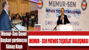 Memur-Sen Patnos teşkilat buluşması