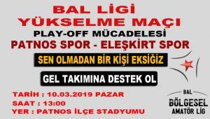PATNOS SPOR'DA HEDEF BAL LİGİ