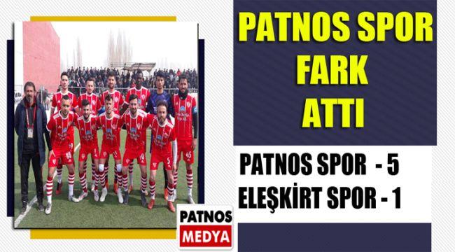 Patnos Spor Fark Attı