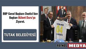 BBP Genel Başkanı Destici'den, Başkan Bülent Duru'ya Ziyaret