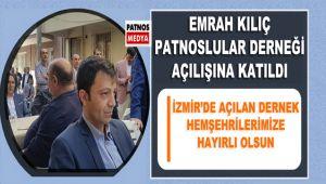 Patnos Belediye Eşbaşkanı Emrah KILIÇ, Dernek Açılışına Katıldı