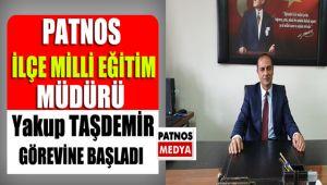 Patnos Milli Eğitim Müdürü Taşdemir görevine başladı