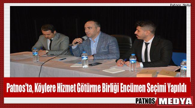 Patnos'ta, Köylere Hizmet Götürme Birliği Encümen Seçimi Yapıldı