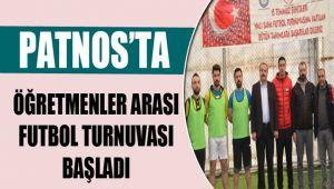 Patnos'ta Öğretmenler Arası Turnuva Başladı
