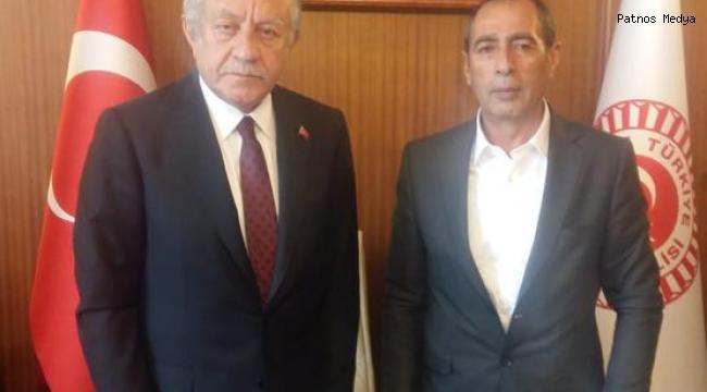 Tutak Belediye Başkanı Bülent Duru TBMM Başkan Vekili Celal Adan'ı Ziyaret Etti