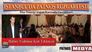 İstanbul'da Patnos Rüzgarı Esti İftar Yemeği Yoğun Katılımla Gerçekleşti.