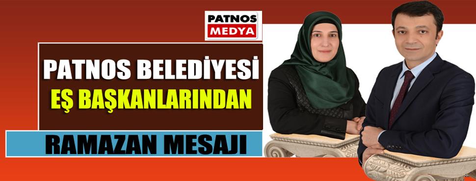 Patnos Belediyesi Eş Başkanlarından Ramazan Mesajı