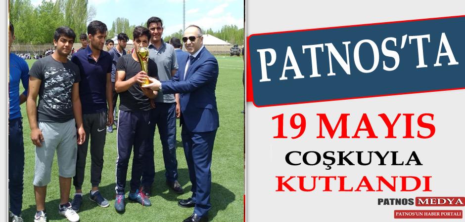 Patnos'ta 19 Mayıs Coşkuyla Kutlandı