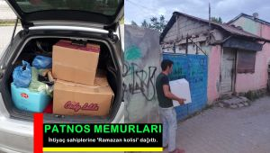 Patnos'ta İhtiyaç sahiplerine 'Ramazan kolisi' dağıtıldı