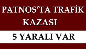 Patnos'ta Trafik Kazası Meydana Geldi