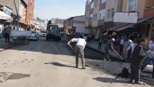 Patnos Belediye Başkanı asfalt çalışmalarını yerinde inceledi