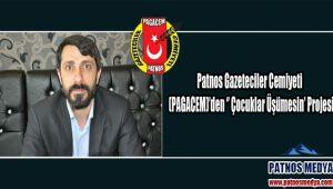 Patnos Gazeteciler Cemiyeti (PAGACEM)'den '' Çocuklar Üşümesin' Projesi.