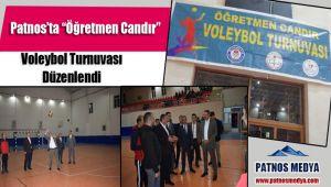 """Patnos'ta """"Öğretmen Candır"""" Voleybol Turnuvası Düzenlendi"""
