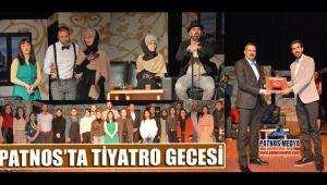 Patnos'ta Tiyatro Gecesi