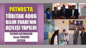 Patnos'ta Tübitak 4006 Bilim Fuarı'nın Açılışı Yapıldı.