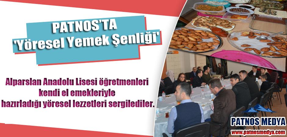Patnos'ta 'Yöresel Yemek Şenliği'