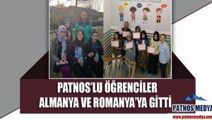 Patnos'lu öğrenciler Almanya ve Romanya'ya gitti
