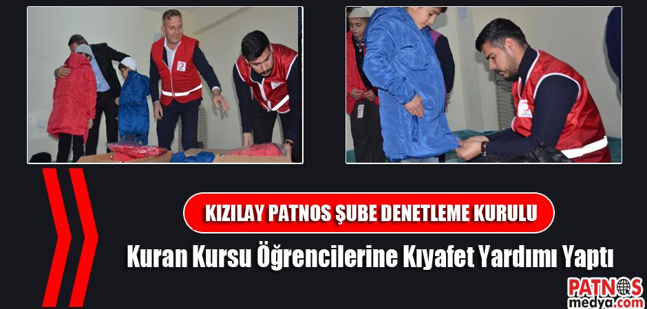 Patnos'ta, Kuran Kursu Öğrencilerine Kıyafet Yardımı