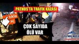 Patnos'ta Trafik Kazası Çok Sayıda Ölü Var