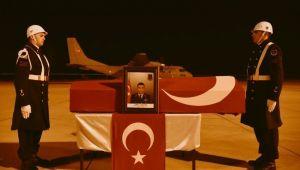 Diyadin'de şehit olan askerin cenazesi baba ocağına uğurlandı