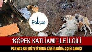 Patnos Belediyesi'nden Kamuoyuna Duyuru