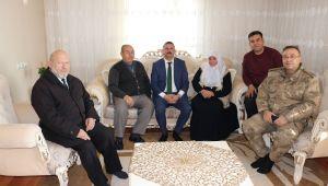 Patnos Kaymakamı Şehit yakınlarını ziyaret etti.