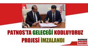 Patnos'ta Geleceği Kodluyoruz Projesi İmzalandı.