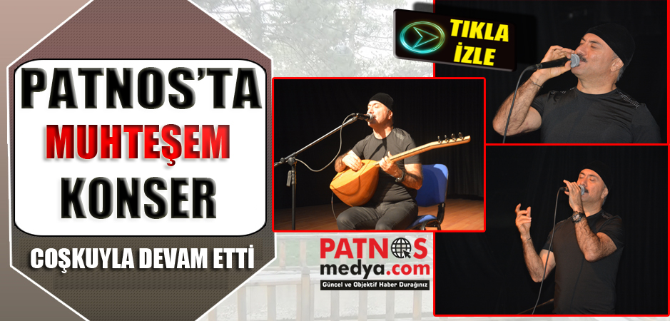 Patnos'ta Hozan Beşir Konser Verdi.