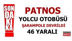 Patnos İtimat Şarampole Devrildi