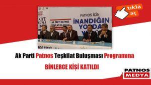 ''AK Parti Patnos Teşkilat Buluşması'' programı
