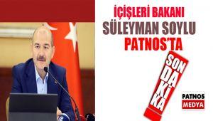 Bakan Süleyman Soylu Patnos'ta
