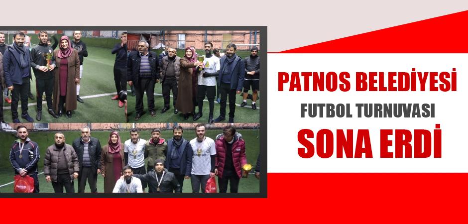 Patnos Belediyesi Futbol Turnuvası Sona Erdi