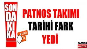 Patnos takımı tarihi fark yedi