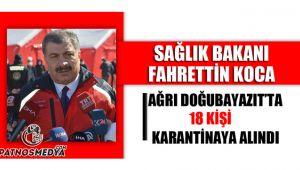 Sağlık Bakanı Fahrettin KOCA, Ağrı'da