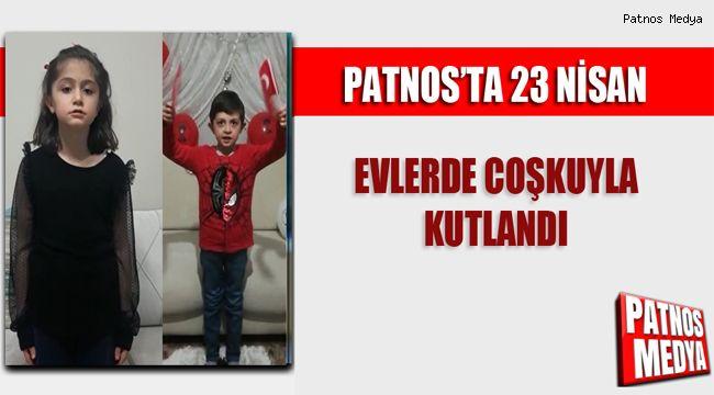 Patnos'ta 23 Nisan Coşkusu