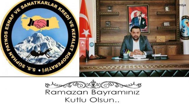 Başkan Suat Taşdemir'den Ramazan Bayramı Mesajı