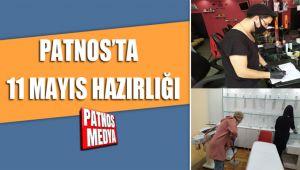 PATNOS'TA 11 MAYIS HAZIRLIĞI