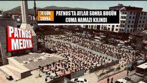 Patnos'ta 74 Gün Sonra Bugün Cuma Namazı Kılındı
