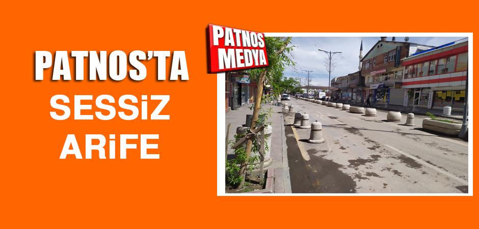 Patnos'ta Sessiz Arife