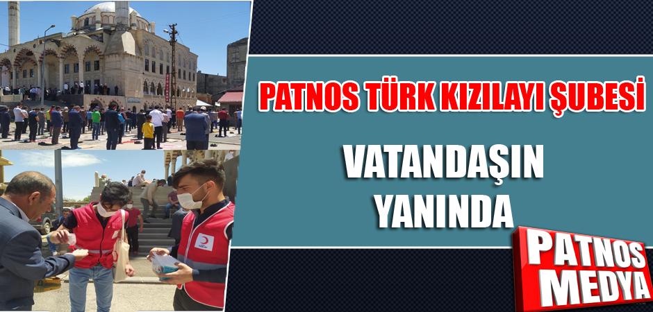 Patnos Türk Kızılayı Şubesi Vatandaşın Yanında