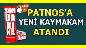 Patnos'a Yeni Kaymakam Atandı