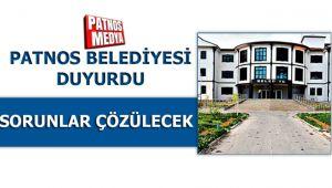 Patnos Belediyesi Duyurdu !