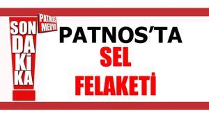 Patnos Köylerini Sel Aldı