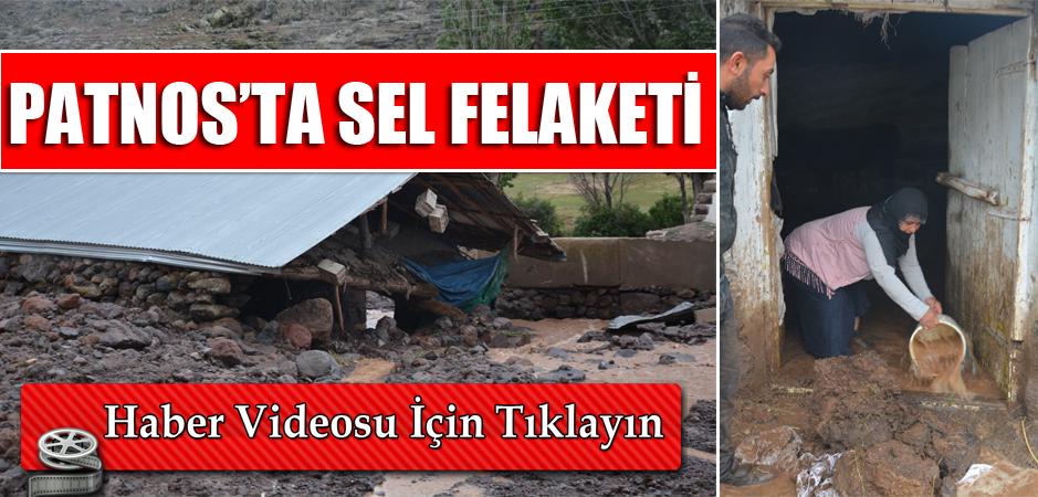 PATNOS'TA SEL FELAKETİ