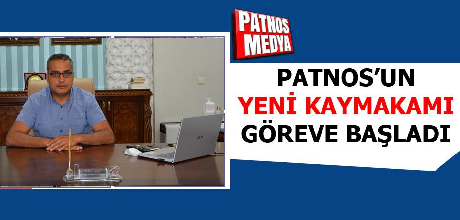 Patnos'un Yeni Kaymakamı Göreve Başladı