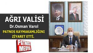 Ağrı Valisi Dr. Osman Varol Patnos'ta