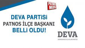 DEVA Partisi'nin Patnos İlçe Başkanı belli oldu